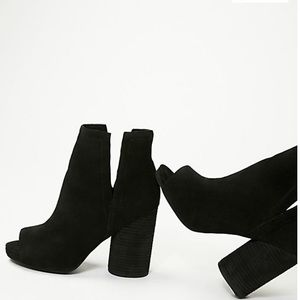 Jeffrey Campbell Oath open toe booties